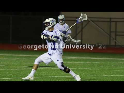 Peter Thompson (Georgetown '22) Lacrosse Highlights Spring 2017