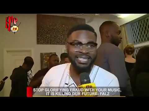 """""""Stop Glorying Yahoo Boys And Fraudsters With Your Music"""" - Falz (Video)"""
