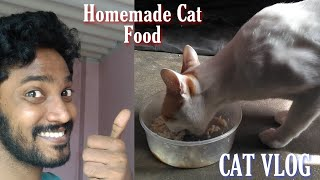 Homemade Cat Food | CAT VLOG | Tamil | Vinothjustice