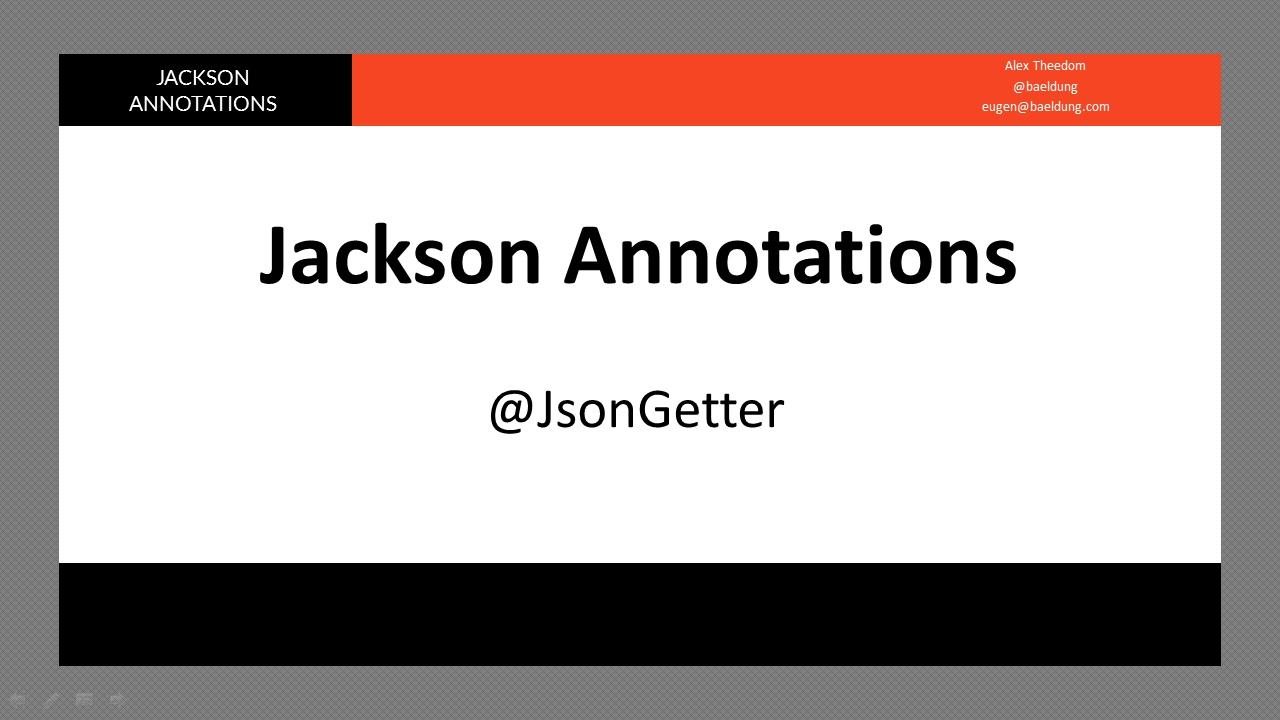 Jackson serialization 2 jsongetter annotation youtube jackson serialization 2 jsongetter annotation baditri Images