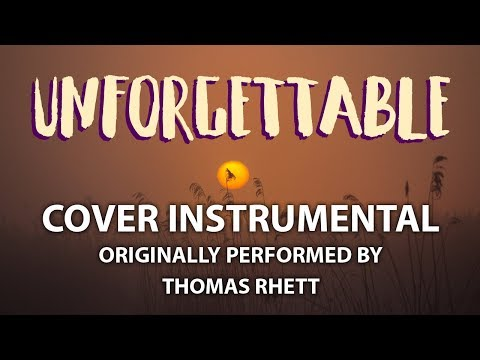 Unforgettable (Cover Instrumental) [In the Style of Thomas Rhett]