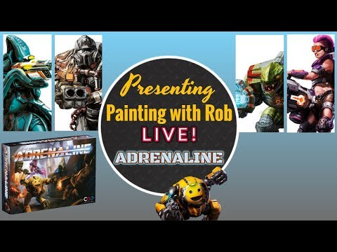 Painting with Rob Live! Adrenaline
