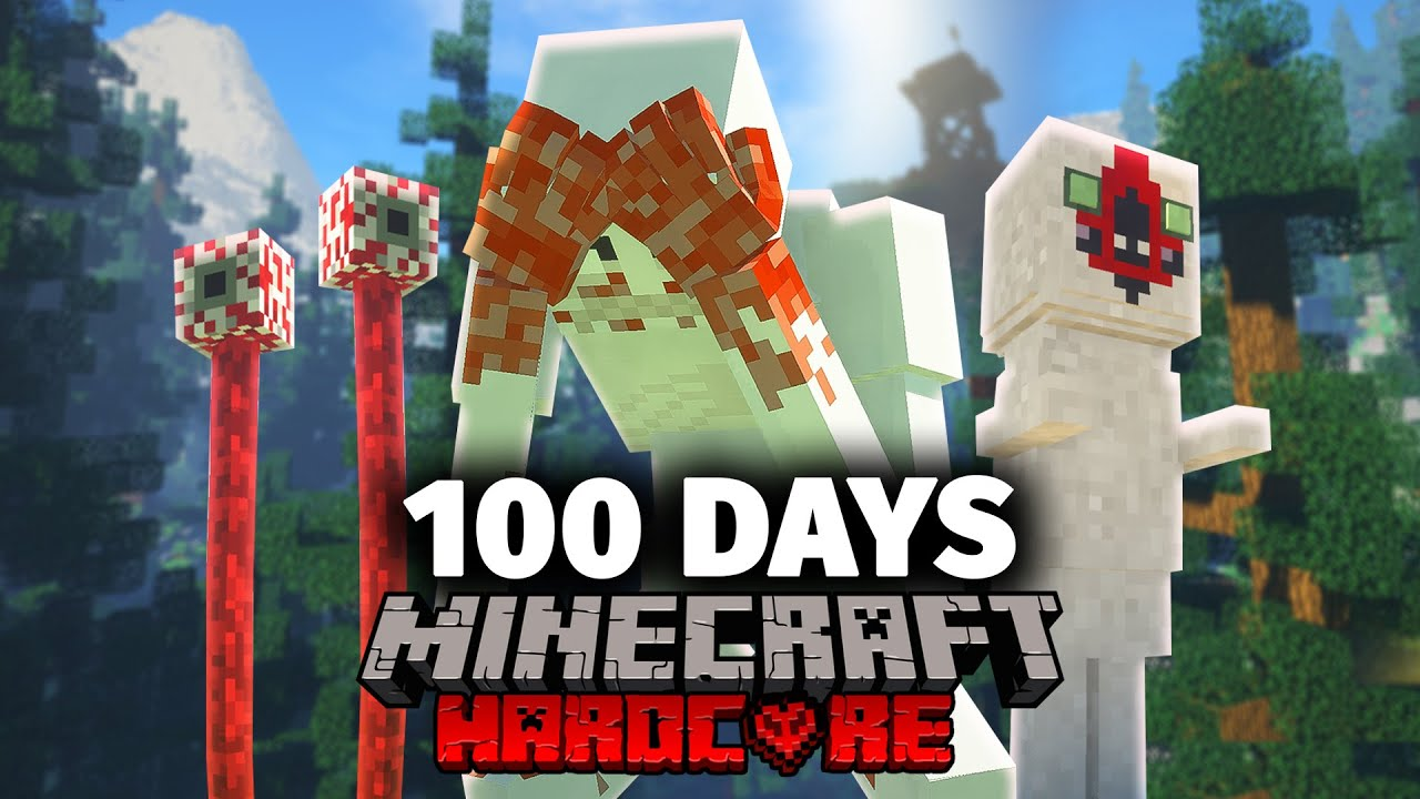 I Spent 100 Days in a SCP Minecraft and Heres What Happened