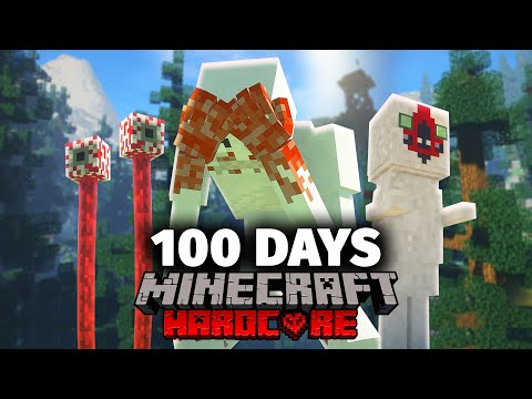 I Spent 100 Days in a SCP Minecraft and Here's What Happened