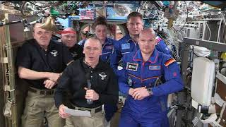 Expedition 56 Crew Hands Over the Space Station to Expedition 57