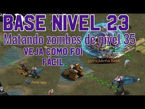 Base 23 Matando Zombies Nivel 35 Dica Top Last Empire War Z
