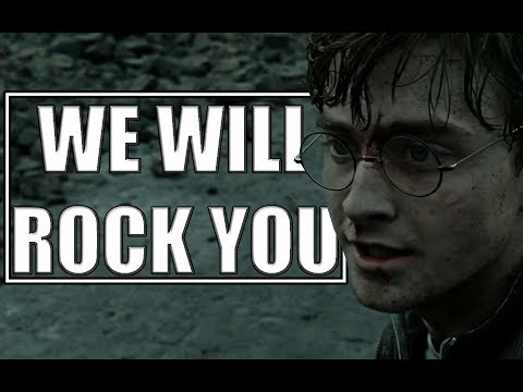 HARRY POTTER || We Will Rock You