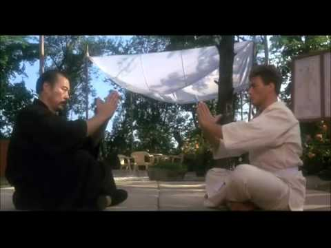 Van Damme Training In Bloodsport