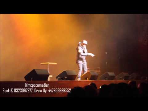 Video (stand-up): Comedian MCPC at I Go Dye Easter Show London