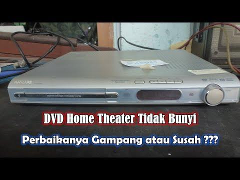 Servis DVD Home Theater Philips LX3900SA Rusak Tidak Bunyi