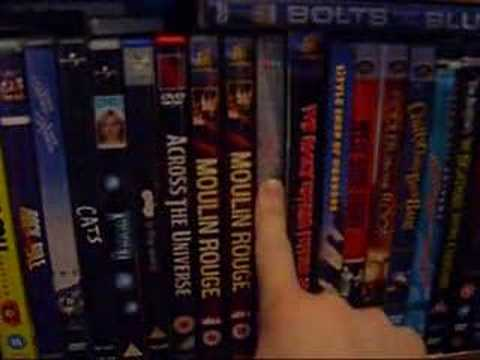 My DVD Collection - Musicals part 1