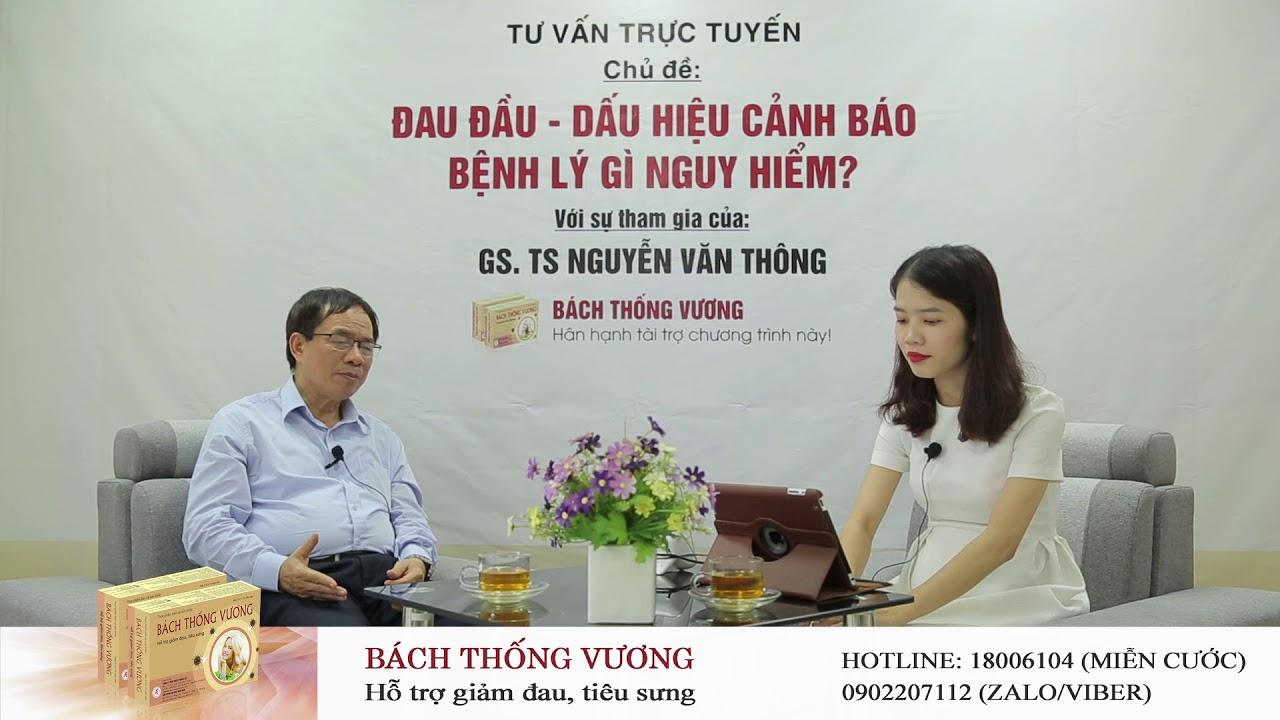 Bị đau đầu, buồn nôn là bệnh gì và có nguy hiểm không? GS. TS Nguyễn Văn Thông tư vấn