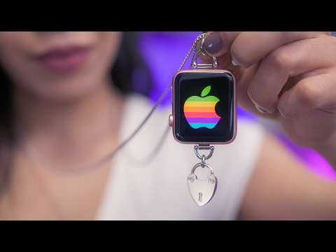 The Apple Watch Necklace!
