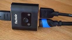 Review - HDMI Switch/Splitter von Techole