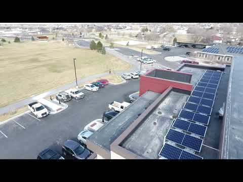 BLUFFDALE ENGINEERING - FINISHED SOLAR INSTALL  03/01/19