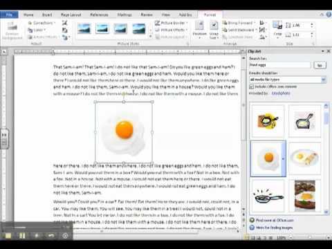 Inserting Clip Art and Creating Page Borders
