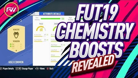 FUT19 CHEMISTRY BOOSTS REVEALED - INSANE GK BOOSTS! FIFA 19 ULTIMATE TEAM