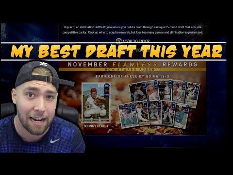BEST DRAFT OF THE YEAR! MLB 17 DIAMOND DYNASTY!