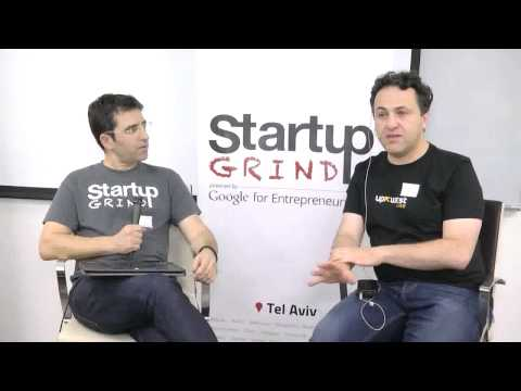 Gil Ben-Artzy (UpWest Labs) at Startup Grind Tel Aviv - 27 Nov, 2014