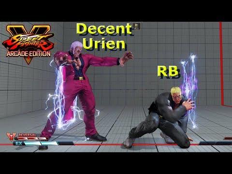 SFV AE - RB VS A Decent Urien | Mirror Match First To 3