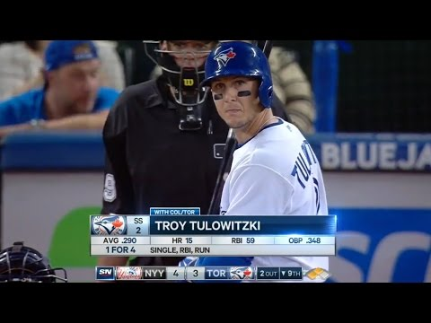Troy Tulowitzki vs. Andrew Miller - Aug. 14, 2015 (One of the best at-bats of the 2015 season)