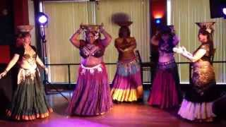Delphi Dance Ensemble - Tava's Cafe Bellydance