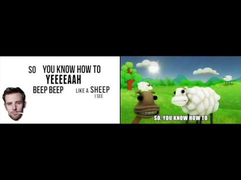 Beep Beep I'm A Sheep Original & TLT Remix Comparison