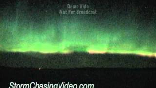 3/10/2011 Minnesota Northern Lights,  Aurora Borealis