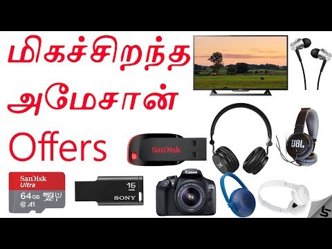 Amazon Great Indian Festival - மிகச்சிறந்த சலுகைகள் 🔥 | Best Deals and Offers | Tamil | Tech Satire