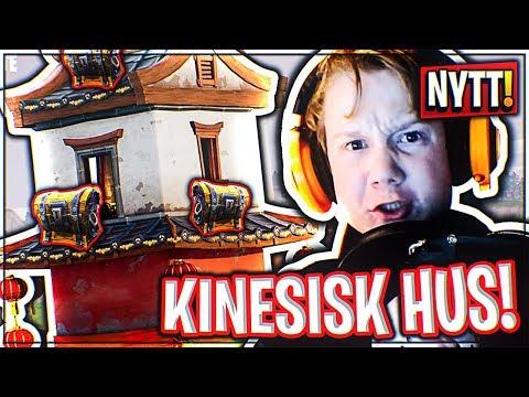 NYTT HUS MED 3 KISTER! | Norsk Fortnite Battle Royale