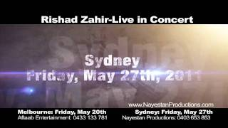 Rishad Zahir Live in Concert in Australia