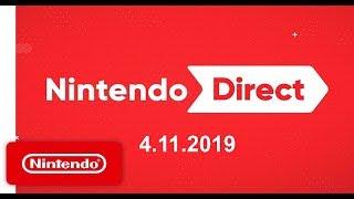 Nintendo Direct 4.11.2019