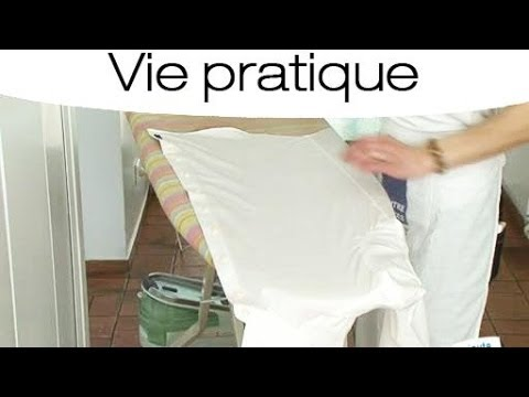comment repasser une chemise youtube. Black Bedroom Furniture Sets. Home Design Ideas