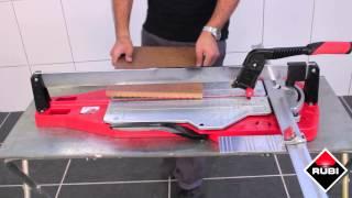 Профессиональный ручной плиткорез Rubi TP-Т(Плиткорезы Rubi серии TP-T оборудованы прочной монорельсой, которая обеспечивает долгий срок эксплуатации..., 2015-05-08T08:59:21.000Z)
