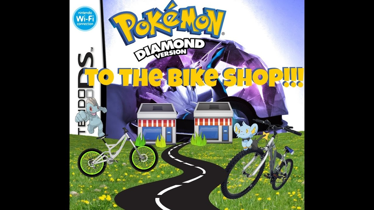 pokemon diamond 7 to the bike shop youtube