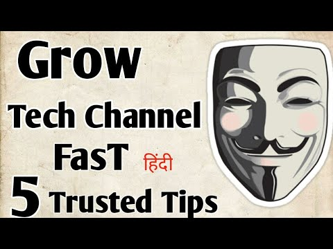 How to grow tech channel fast