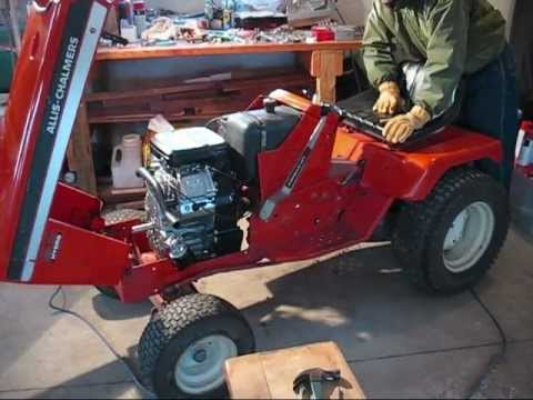 John Deere Engine Wiring Diagram Allis Chalmers 917h Repower With 23hp Briggs And Stratton
