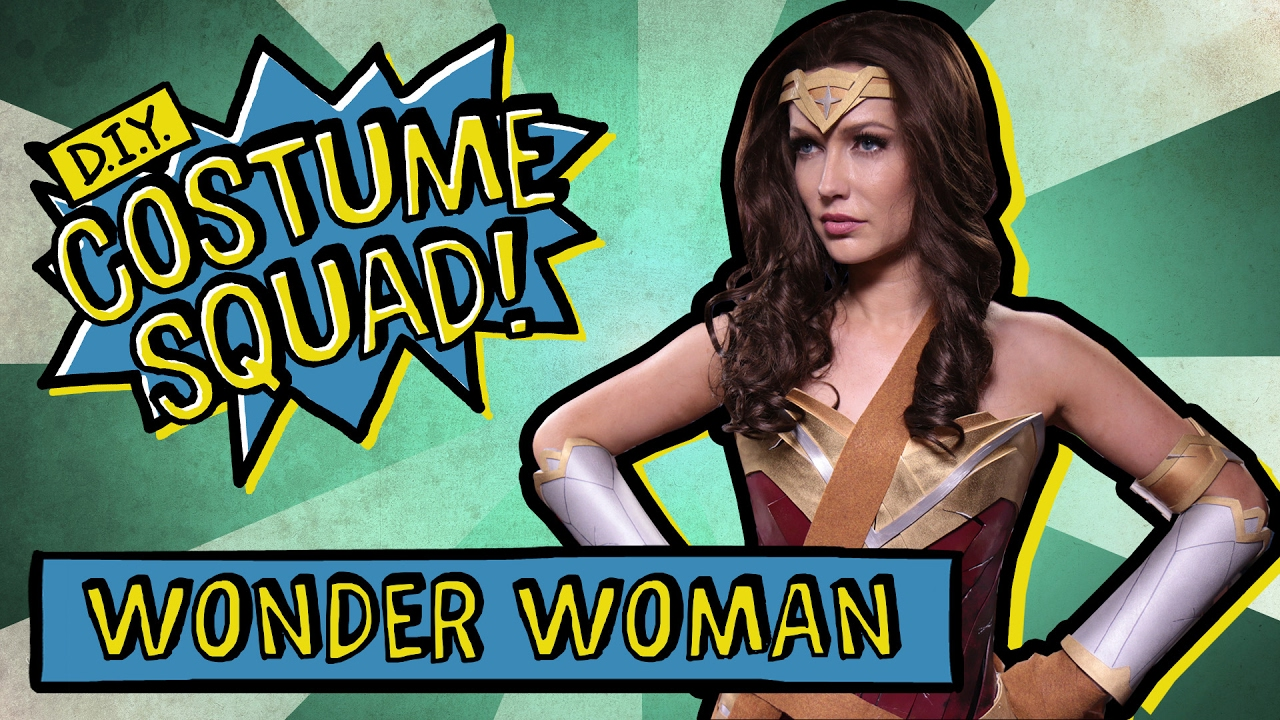 Make your own wonder woman costume diy costume squad youtube make your own wonder woman costume diy costume squad solutioingenieria Image collections