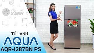 Tủ lạnh Aqua Inverter 267 lít AQR - I287BN PS - Giá cực ngon cho gia đình bạn | Điện máy XANH