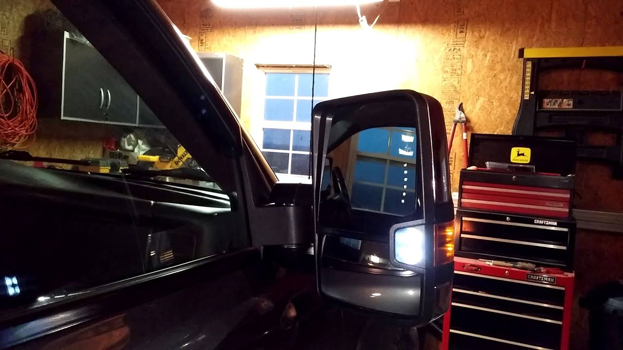 2015 5 dual function tow mirror on  u0026 39 07 gmc