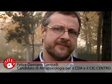 Felice Torricelli, Candidato ENPAP CdA e CIG Centro