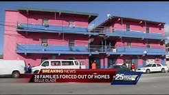 Residents evicted from Belle Glade apartment complex