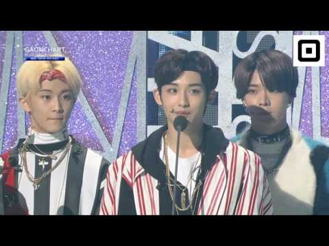 [ENG SUB] 170222 NCT127 Rookie of the year @ Gaon Chart Awards