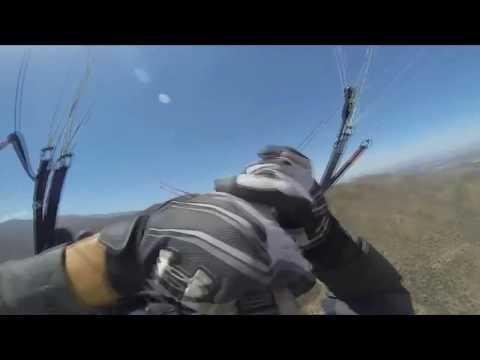 Termik Sonrasi Kapanma Ve Tehlikeler /Paragliding Accident Thermik