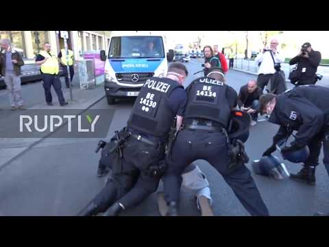 Germany: Several arrested at unregistered Berlin rally against coronavirus restrictions