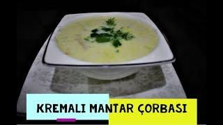 Kremalı Mantar Çorbası - Lezzet Garantili