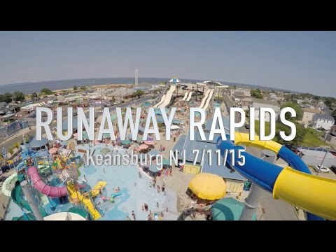 RUNAWAY RAPIDS KEANSBURG WATER PARK 7-11-15