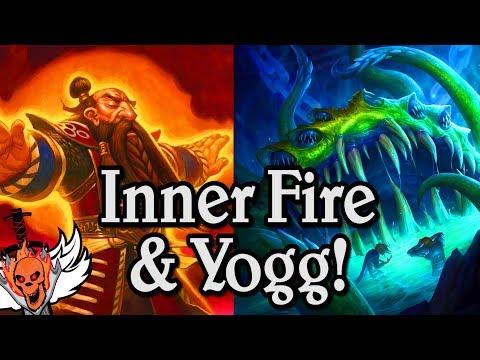 Inner Fire & Yogg  🍀🎲 ~ Journey to Un'Goro ~ Hearthstone Heroes of Warcraft