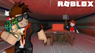 THE BABYSITTER CHALLENGE -- ROBLOX Flee The Facility
