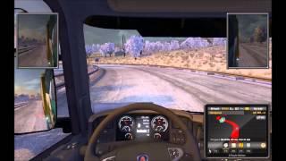 Euro Truck Simulator 2 cz.22. --- Autostopowicze PlajerTV, LamGamesTV, RejveN ---